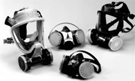 TWIN-CARTRIDGE RESPIRATORS